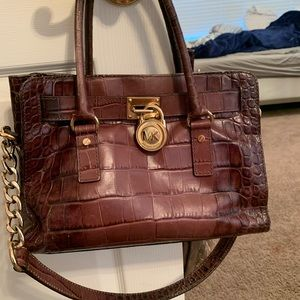 Alligator Michael Kors purse
